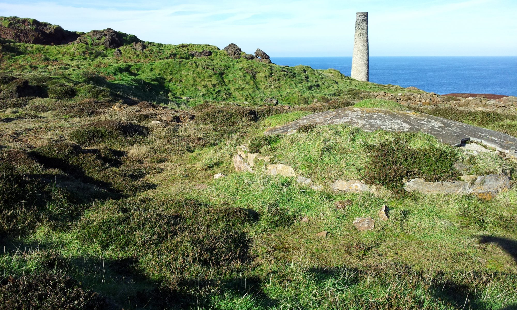 Levant Mine, part of the Cornwall and West Devon Mining Landscape, designated in 2006.