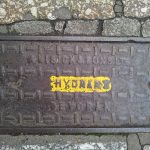 Hydrant cover by W. Visick and Sons Ltd, Devoran (The Greenmarket/Chapel Street, Penzance)