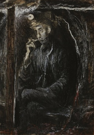 Tin Miner by Graham Sutherland (credit: The Artist's Estate).