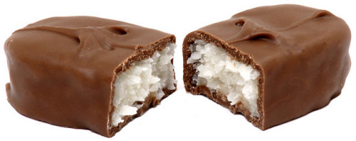 A Bounty chocolate bar (Wikimedia Commons)