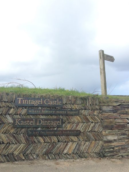 Where history sits uncomfortably with legend, new interpretation at Tintagel Castle.