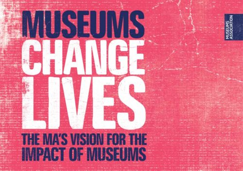 Museums Change Lives logo