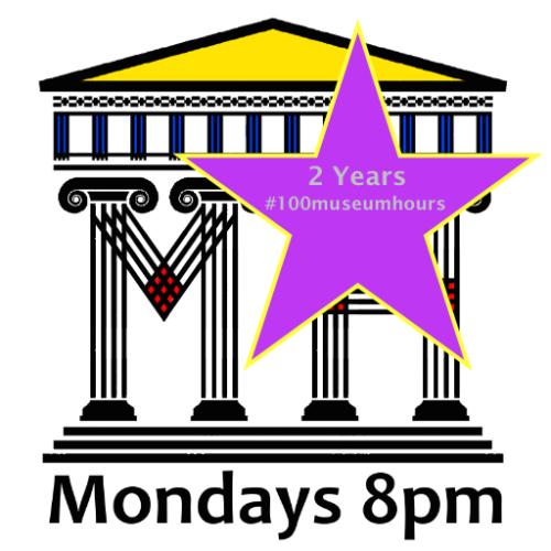 #100museumhours logo