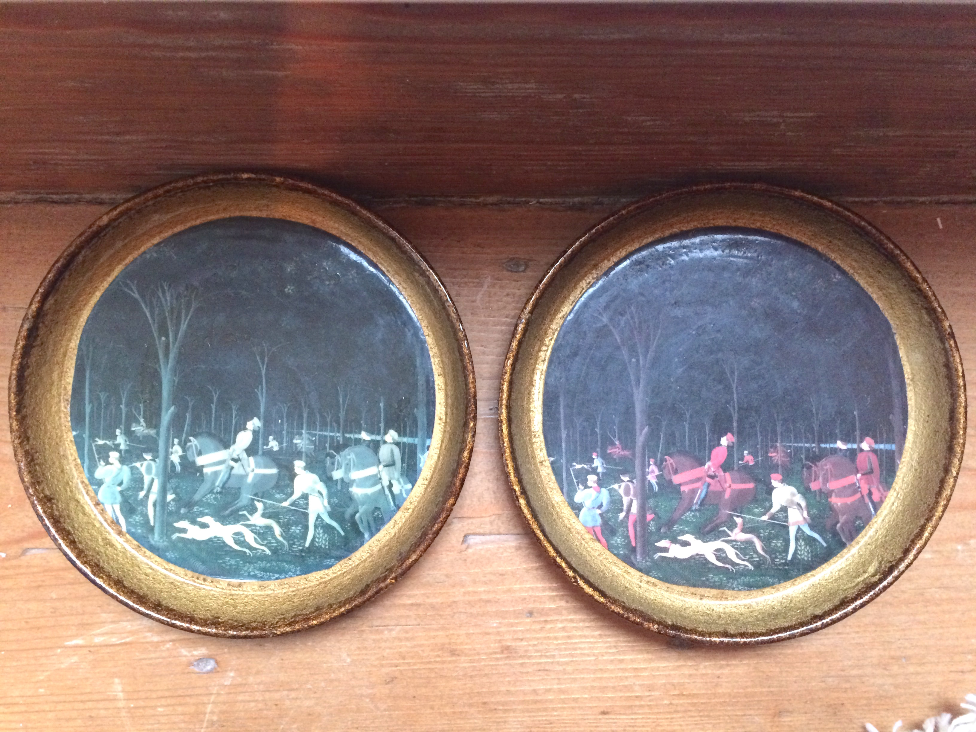 Two identical coasters showing the effects of UV and sunlight damage
